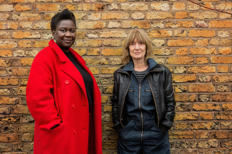 Barbara Steveni and Barby Asante - the artists for SERP Reactivation